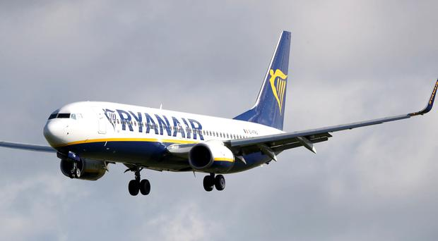 Some Irish pilots at Ryanair have backed strike action in a row over pay (PA)
