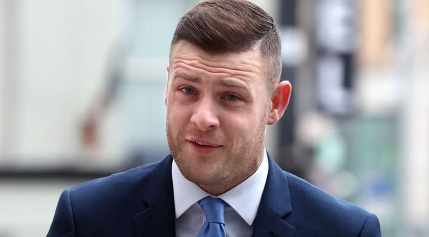 Footballer Anthony Stokes appeared at court (Niall Carson/PA)
