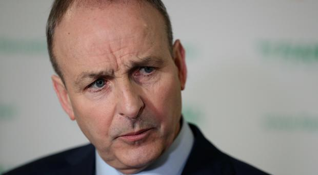 Fianna Fail leader Micheal Martin (Brian Lawless/PA)