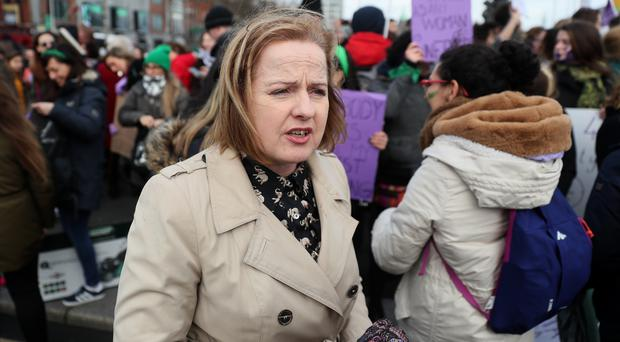 Ruth Coppinger called for services for renters who are being sexually harassed by their landlords (Brian Lawless/PA)