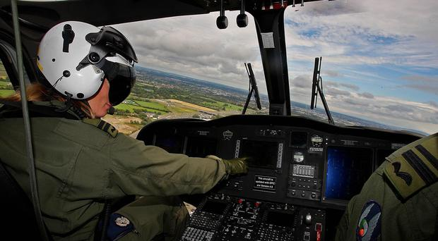 The Defence Forces have manned many air ambulances (Julien Behal/PA)