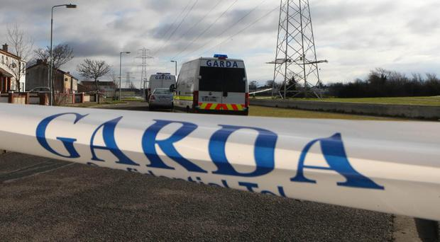 The area was cordoned off for a forensic examination (PA)