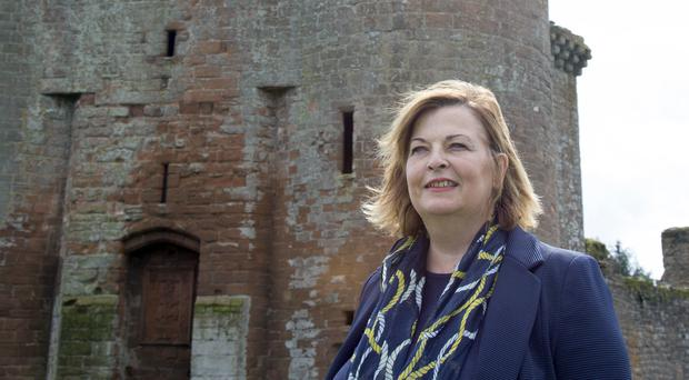 Fiona Hyslop described Ireland as one of Scotland's 'oldest friends' (Mike Bolam/Historic Environment/PA)