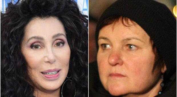 Cher and Brid Smith TD (Ian West/Niall Carson/PA)