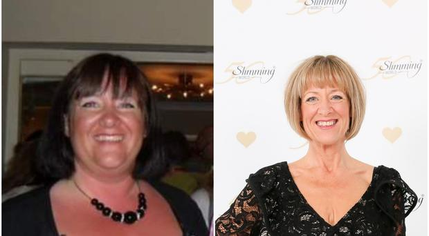 Wendy Deacon has lost 12 stone (Slimming World/PA)