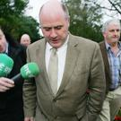 Noel Grealish has been accused of racism over a question in the Dail (Niall Carson/PA)