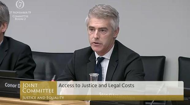 """Conor Dignam SC, vice chair of the Bar of Ireland, said that the civil legal aid system in Ireland is """"chronically under resourced""""."""