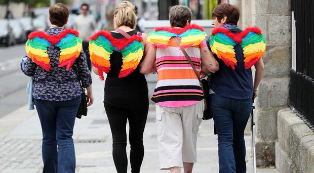 The Government has published its national LGBTI+ Inclusion Strategy 2019–2021 (PA)