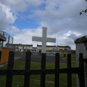 Draft laws enabling the reburial of hundreds of remains of babies and children from a mass grave at the former Tuam Mother and Baby Catholic care home in Ireland have been published (Niall Carson/PA).