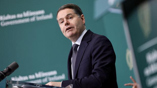 Finance Minister Paschal Donohoe described the growth as 'remarkable' (Julien Behal Photography)