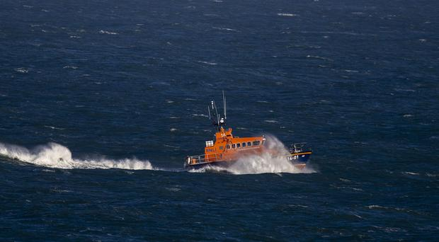 The RNLI helped rescue two kayakers in Co Tipperary (Steve Parsons/PA)