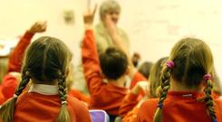 In June it was reported that teaching unions and employers had reached an agreement in principle to end long-running industrial action with a pay offer of 4.25% over two years (stock photo)