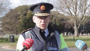 Garda Commissioner Drew Harris met with Government ministers on Tuesday night to discuss the regulations (Garda/PA)