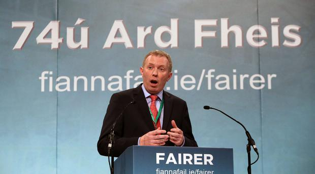 Fianna Fail TD Timmy Dooley said he believes a colleague voted in the Dail for him (PA)