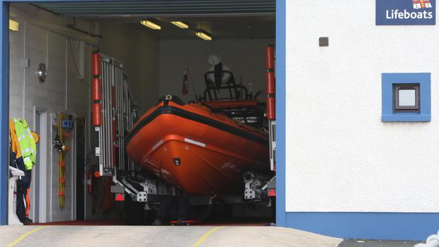 An RNLI volunteer has drowned in Co Donegal (Paul Faith/PA)