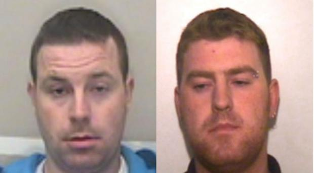 Christopher Hughes (left) and Ronan Hughes (Essex Police/PA)