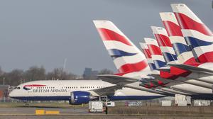 British Airways has cancelled hundreds more flights (Steve Parsons/PA)