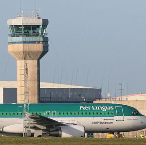Two Aer Lingus flights heading to Dublin Airport had to be diverted due to police activity