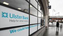 The Ulster Bank headquarters in Dublin (PA)