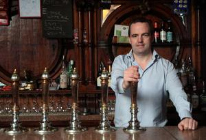 Ronan Lynch, owner of The Swan Bar in Dublin city centre (Brian Lawless/PA)