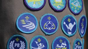 Scouting achievement badges (Niall Carson/PA)