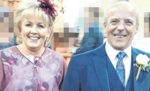 Jean Eagers and her husband William, who is now in Garda custody