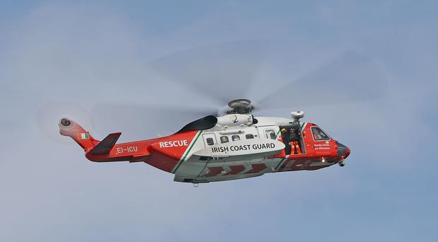 The Irish Coast Guard is involved in the search off Hook Head, Co Wexford (Niall Carson/PA)