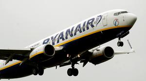 Ryanair confirmed that Spanish officials were waiting for the plane when it landed