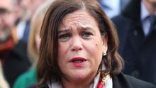Mary Lou McDonald said it is still possible to have a Sinn Fein-led government (Niall Carson/PA)