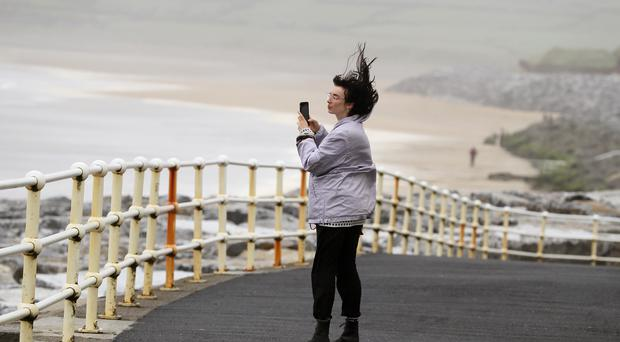 Residents have been warned to stay away from the coast (PA)