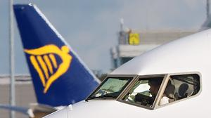 Ryanair is cancelling flights due to the coronavirus (Niall Carson/PA)