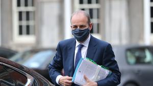 Taoiseach Micheal Martin has rejected claims from Sinn Fein leader Mary Lou McDonald that his administration's handling of the travel issue had been 'cack-handed' (Niall Carson/PA)