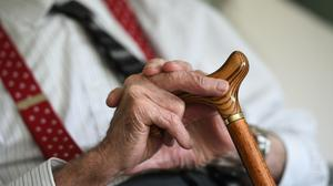 Half of Ireland's nursing homes inspected over confirmed cases of Covid-19 complied with infection prevention standards, an inspector found (Joe Giddens/PA)