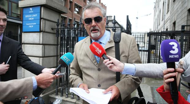 Ian Bailey has been arrested after the High Court endorsed a European Arrest warrant (Niall Carson/PA)