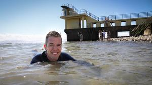 Dr Liam Burke, of NUI Galway, at Blackrock, Salthill in Galway (Aengus McMahon)