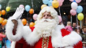 Follow Santa as he makes his way across the globe.