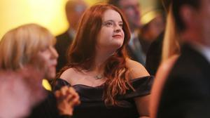 Emma DeSouza at the Ireland Funds 28th National Gala dinner at the National Building Museum in Washington DC during the Taoiseach's visit to the US. PA Photo. Picture date: Wednesday March 11, 2020. See PA story POLITICS Ireland US. Photo credit should read: Niall Carson/PA Wire