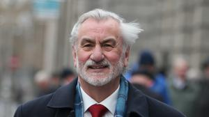 Just Transition Commissioner Kieran Mulvey (Brian Lawless/PA)