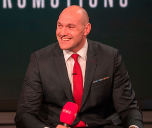 Tyson Fury (pictured) is said to no longer be represented by Daniel Kinahan