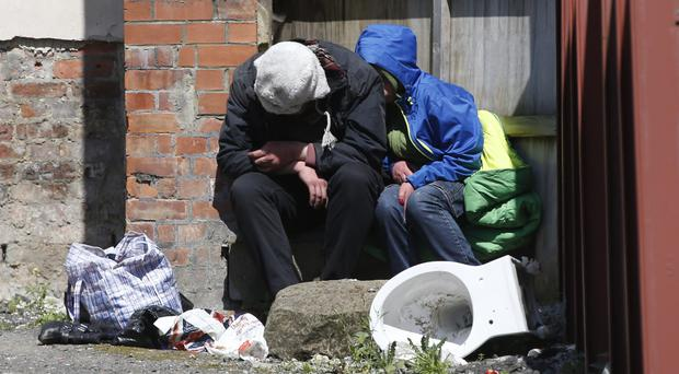 'It is inexcusable that, in a modern society with a welfare state, people have no place to call home' (stock photo)