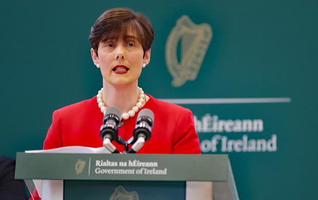 Education Minister Norma Foley is to address the Irish National Teachers' Organisation annual conference on Tuesday (PA)