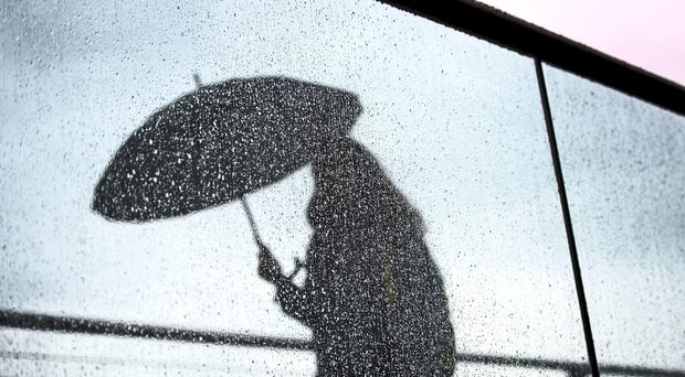Heavy rain is forecast for Northern Ireland.