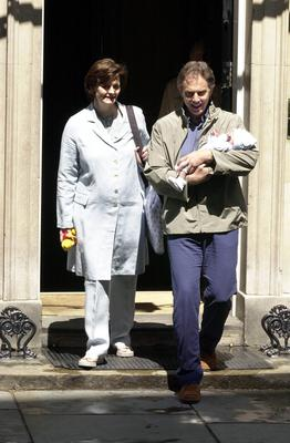 Former prime minister Tony Blair also took paternity leave after the birth of his son Leo (Tony Harris/PA)