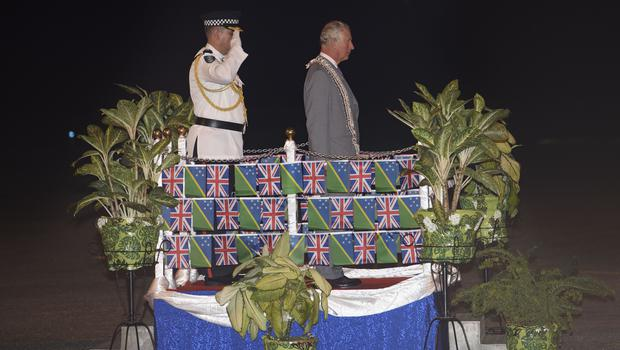 The Prince of Wales arrives in Solomon Islands (Tim Rook/PA)