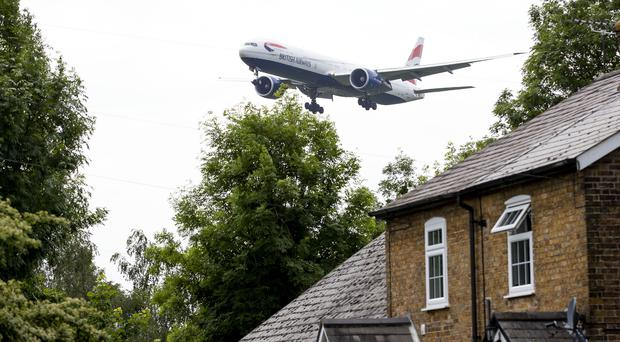 Much opposition remains against Heathrow expansion (Steve Parsons/PA)
