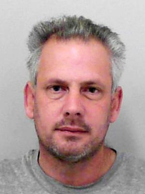 Joseph Isaacs, 40, who has been found guilty at Taunton Crown Court of attempted murder (Avon and Somerset Police/PA)