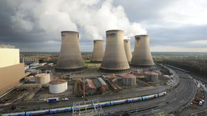 Britain's coal-free run came to an end after Drax ran tests following maintenance (Anna Gowthorpe/PA)