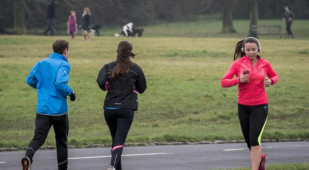 Researchers say telling people how much exercise they need to do to burn off food and drink could be more effective at encouraging healthier choices than simply listing the calories (Ben Birchall/PA)