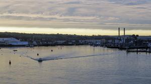 The sun rises over East Cowes on the Isle of Wight (Steve Parsons/PA)