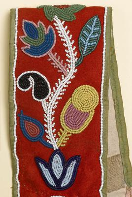 Among the items in the collection is the decorated trade cloth strap from a horse whip (Royal Albert Memorial Museum and Art Gallery/Exeter City/PA). Council